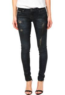 40e74560f ... Calça Jeans Ellus Skinny Dirty Azul