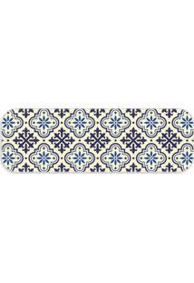 Passadeira Love Decor Premium Ladrilho Blue Único - Kanui