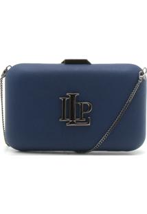 Bolsa Lança Perfume Monograma Azul