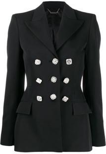 Givenchy Blazer De Alfaiataria Com Botões - Preto