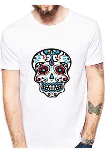 Camiseta Coolest Caveira Masculina - Masculino