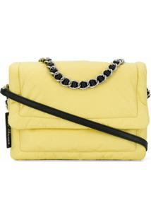 Marc Jacobs Bolsa Tiracolo The Pillow - Amarelo