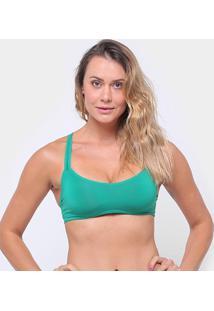Top Liz Com Bojo 81018 - Feminino-Verde