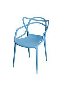 Cadeira Master Allegra Polipropileno Azul - 21400 Azul
