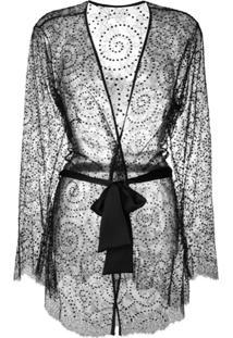 Gilda & Pearl Evelyn Kimono - Preto