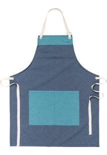 Avental Copa & Cia Organic Chef Azul
