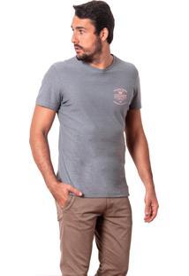 Camiseta Salt35G Linho Signs Cinza