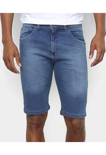 Bermuda Jeans Hd Ly Slim Masculina - Masculino