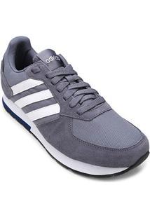 84e28b21931 ... Tênis Adidas 8K Masculino - Masculino-Branco+Preto