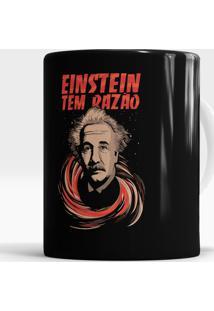 Caneca Einstein Tem Razão