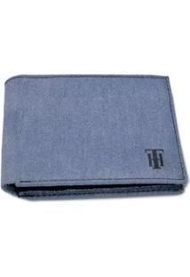 Carteira Vitrine Casual Jeans - Masculino-Azul