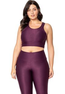 Top Live! Equilibrium Plus Size Roxa
