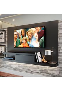 Painel Para Tv Até 50 Polegadas Nath Preto 160 Cm