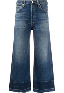 Citizens Of Humanity Cropped Flared Jeans - Azul