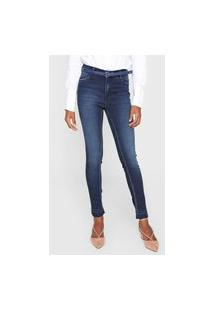 Calça Jeans Dudalina Skinny Demi Curve Azul
