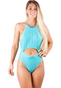 Maiô Frente Unica Aquamarine - Nossa Senhora Do Bíquini - Feminino
