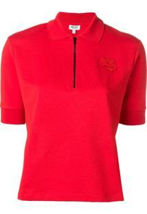 Kenzo Camisa Polo - Vermelho
