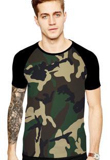 Camiseta Stompy Tattoo Rock Collection 73 Preto