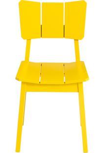 Cadeira Uma - Amarelo