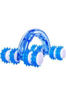 Massageador Manual Roller- Azul & Branco- 7,6X10X14,Acte