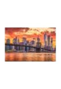 Painel Adesivo De Parede - Nova Iorque - Cidade - 1293Pnm