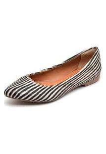 Sapatilha Casual Conforto Yes Basic 100 Zebra