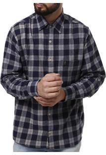 Camisa Manga Longa Sibra Masculina - Masculino