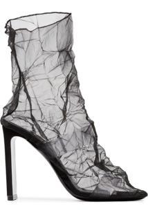 Nicholas Kirkwood Ankle Boot 'D'Arcy 105' De Couro - Preto