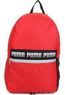 Mochila Puma Phase Backpack Ii - Unissex-Vermelho