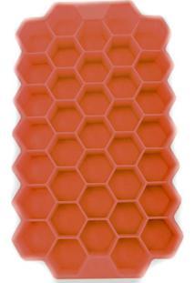 Forma De Silicone Para Gelo Casa De Abelhas Vermelha 20 X 12 Cm