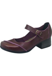 Sapato S2 Shoes Boneca Salto Bordô