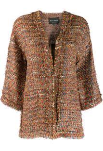 Etro Woven Jacket - Vermelho