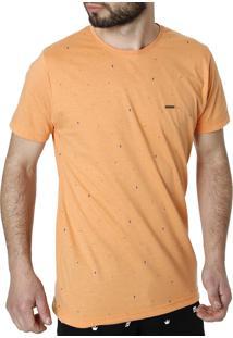 Camiseta Manga Curta Zero Laranja