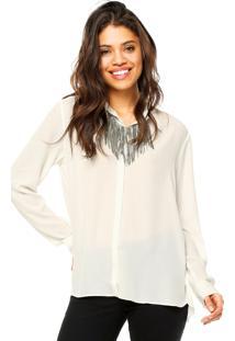 Camisa Manga Longa Ellus Blend Off-White