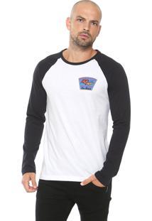 Camiseta Von Dutch Usa Branca/Preta
