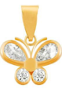 Pingente Borboleta Ouro 18K Vj5911