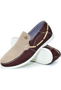 Dockside Shoes Grand Bordo Areia