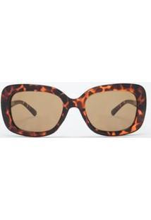 0bd146469 R$ 79,90. Lojas Renner Óculos De Sol Haste Feminino De Sol Quadrado Outono  Inverno 2015 Flanela