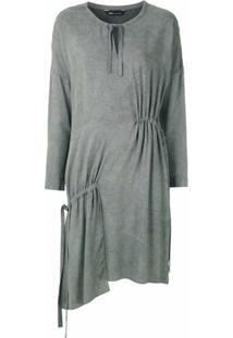 Uma | Raquel Davidowicz Vestido Bristol Estonado - Cinza