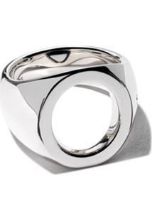 Tom Wood Oval Open Ring - Silver