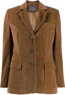 Lorena Antoniazzi Single Breasted Jacket - Marrom
