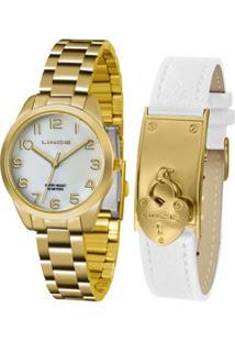Kit Relógio Feminino Lince Lrg4459L Kt76B2Kx