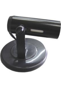 Spot Popular Preto Para 1 Lampada- Ref: Mf 500/1