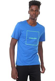 Camiseta Cavalera Quadrado Azul