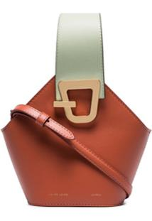 Danse Lente Mini Johnny Bucket Bag - Laranja