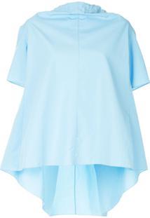 Marni Blusa De Gola Alta - Azul