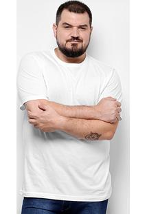 Camiseta Yellowl Básica Plus Size Masculina - Masculino