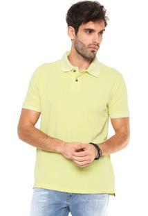 Camisa Polo John John Stone Amarela