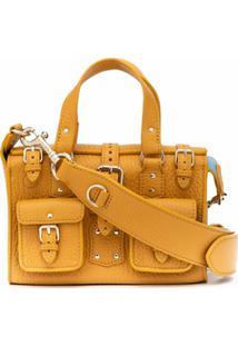Mulberry Bolsa Transversal Roxanne Mini - Amarelo
