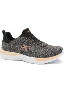 Tênis Skechers Dynamight Break Through - Feminino-Preto